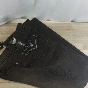 Style & Co. Preimum Black Jeans Sz 10